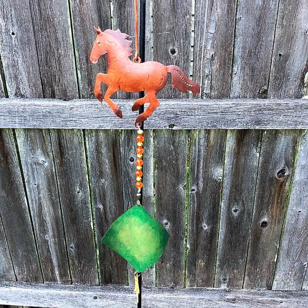 Horse Tin and Jewels Hanger