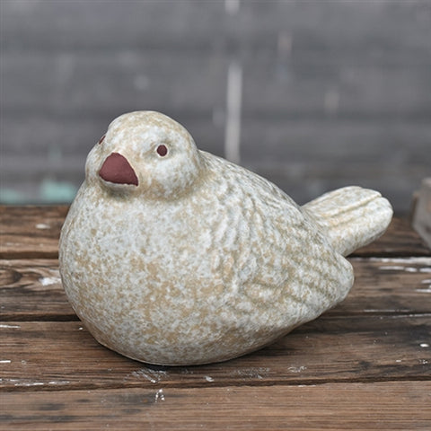 Natural Stone-textured Peaceful Bird