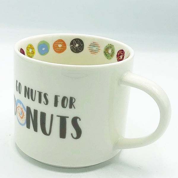 Go Nuts for Donuts Opalhouse 16 oz Mug