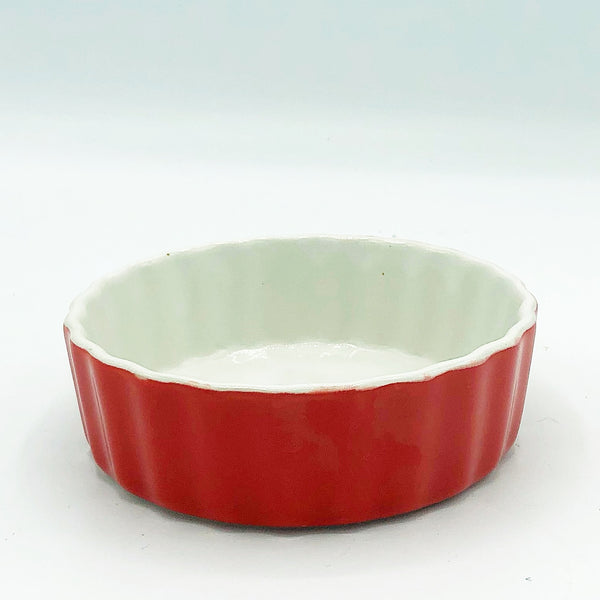 Royal Norfolk Red Tartlet Mini Casserole Bakeware