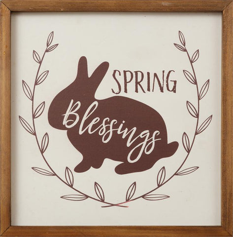 Spring Blessings Easter Sign