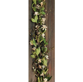 Teastain Gardenia 4 foot Faux Garland