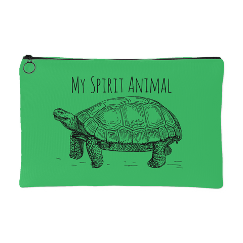 My Spirit Animal is a Tortoise Pouch