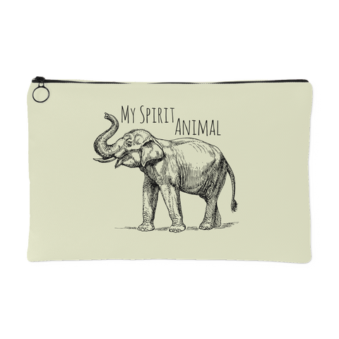 My Spirit Animal is an Elephant Spirit Pouch