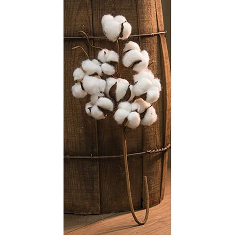 "Cotton Boll Farmhouse 21"" Spray"