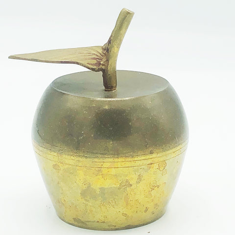 Vintage Brass Apple Bell Made in India