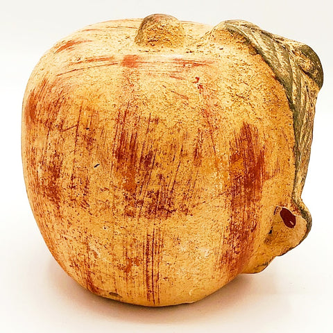 Terra Cotta Natural Apple Figure
