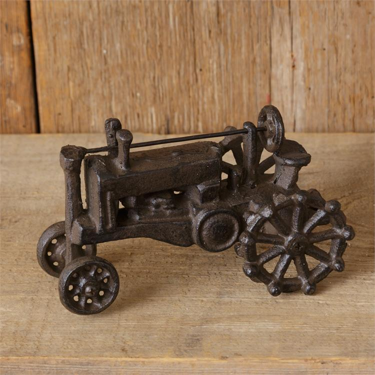Cast Iron Vintage-style Tractor Figure