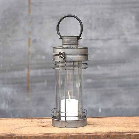 "Addison Tin 15"" Hurricane Lantern"