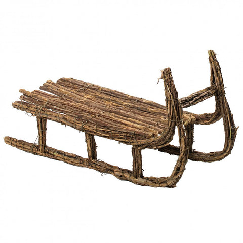 Natural Branch Rustic Display Sled