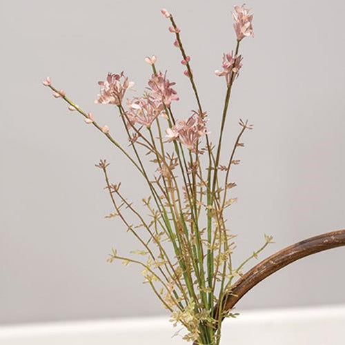 Heather Wildflower Faux Spray