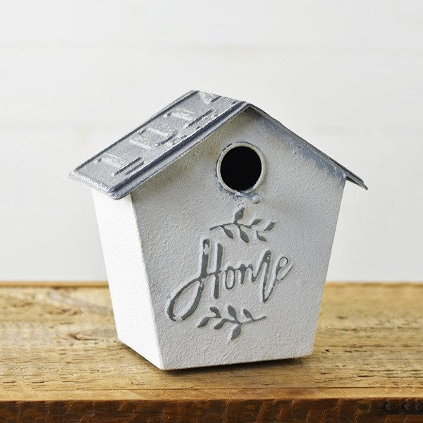 Home Gatherings Tin Bird House
