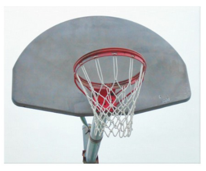 Basketball Hoop - Canvas Gallery Wall Art - 8 x 10, 16 x 20, 24 x 36