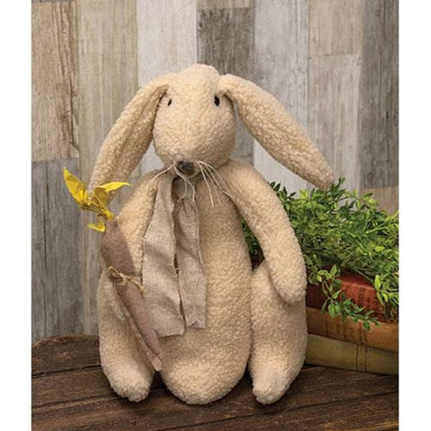 Otis the Bunny Natural Fabric Doll