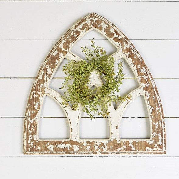 Graceful Art Chapel Wooden Wall Decor