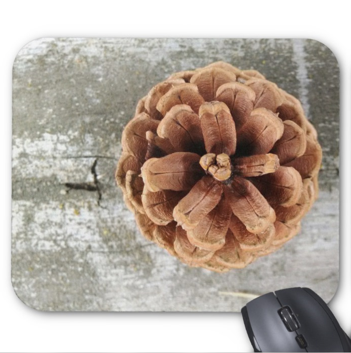 Nature Mousepad - Rustic Pinecone - Mouse Pad