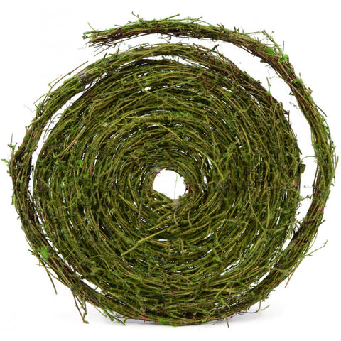 Moss Covered Grapevine Garland - 25 ft