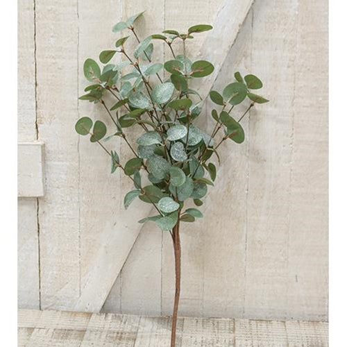 "Crisp Air Eucalyptus 18"" Faux Bush"