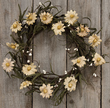 "Teastain Daisy & Pip 12"" Wreath"
