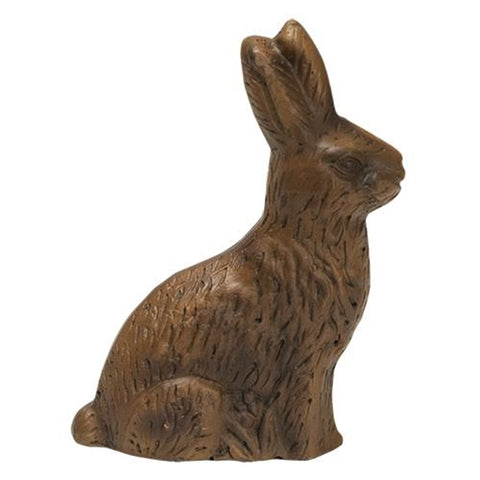 "Resin Chocolate Bunny 5"" H"