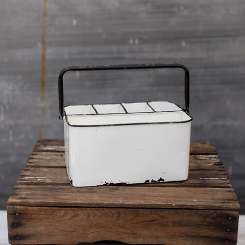 Rustic Black and White Universal Caddy