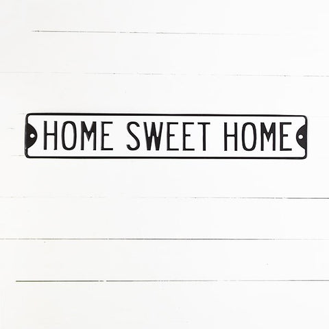 "Home Sweet Home 38"" Street Sign"