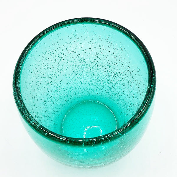 Recycled Glass Green Tumbler Glass