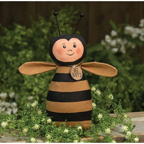 Bee Happy Bumblebee Primitive Country Doll
