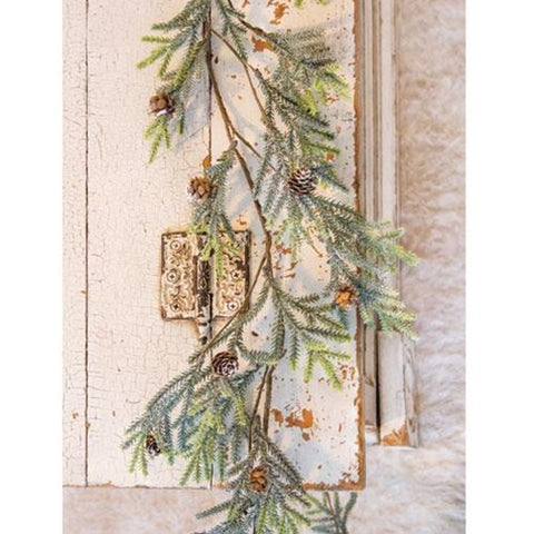 Mountain Pine and Berries 5 ft Garland