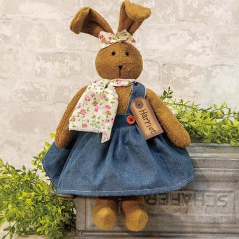 Harriet the Bunny Fabric Easter Doll