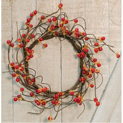 "Bittersweet Harvest 12"" Faux Wreath"