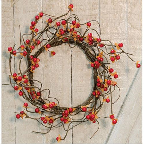 "Bittersweet Harvest 12"" Wreath"