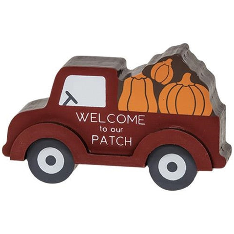 Pumpkin Patch Truck Chunky Sitter