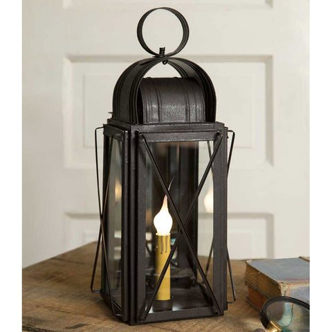 Black Metal Milkhouse Lantern