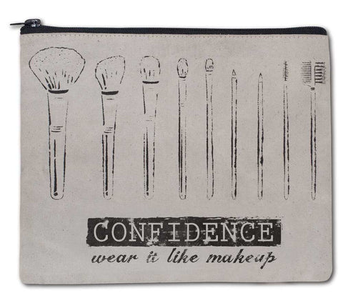 Confidence - Wear it Like Makeup Travel Bag