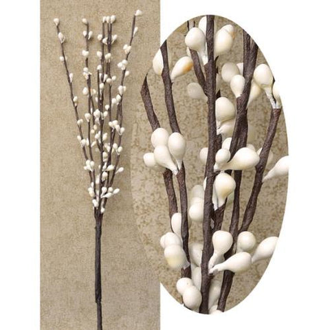 "Ivory Pip 12"" Decorative Pick"