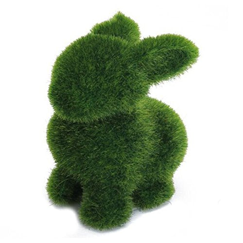 "Green Moss 4.5"" H Rabbit"