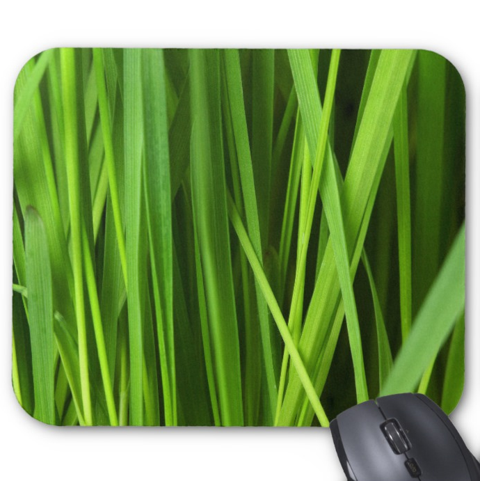Nature Photo Mousepad - Blades of Grass - Mouse Pad