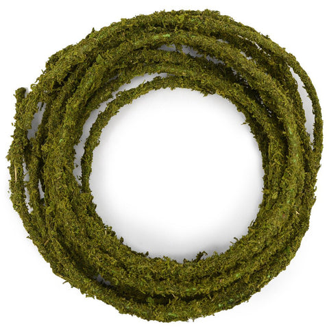 Natural Decorating Moss Rope Garland - 25 ft
