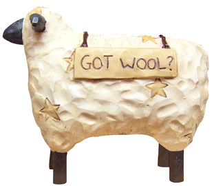 Got Wool? Sheep Figure