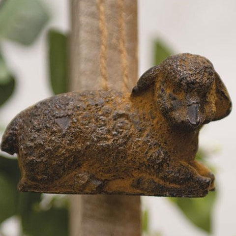 Beeswax Lamb Ornament made in USA