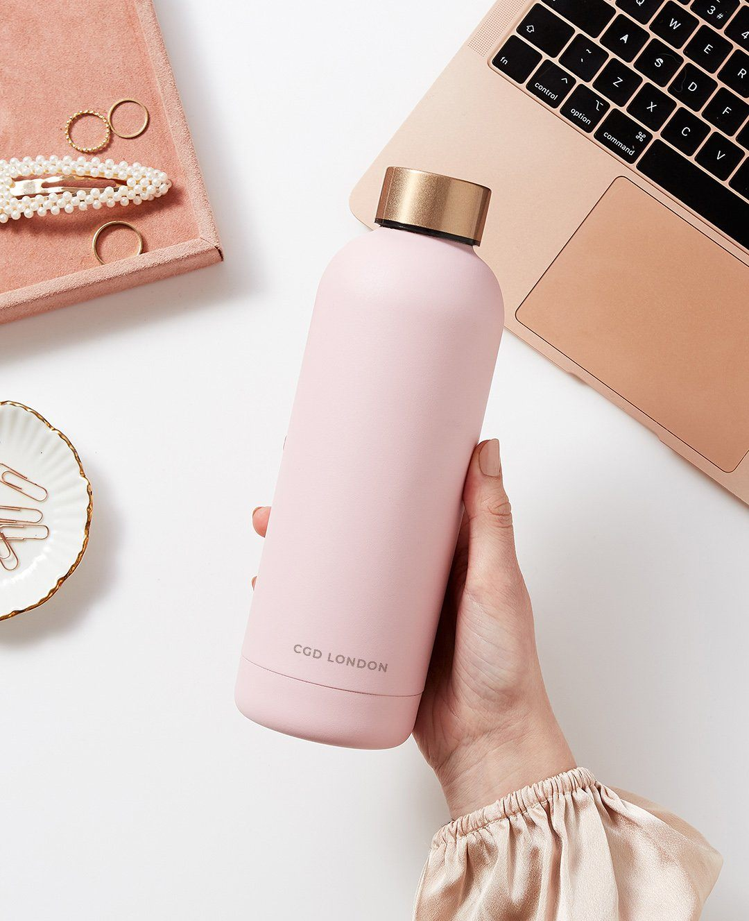 Blush Pink Water Bottle - CGD LONDON