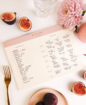 On The Menu Meal Planner - CGD LONDON