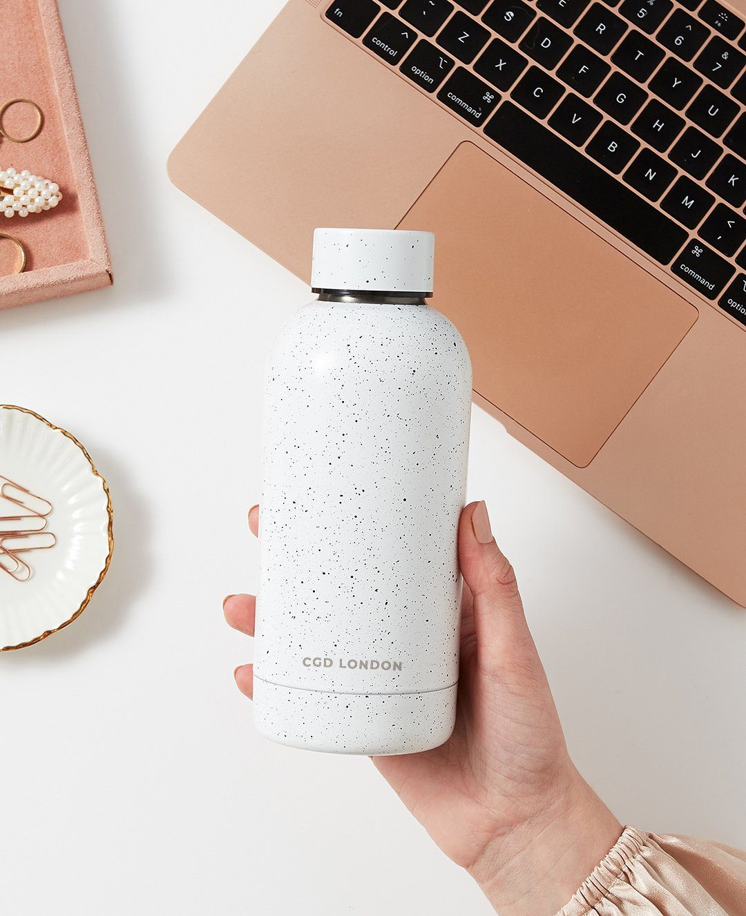 Small Speckled Water Bottle - CGD LONDON