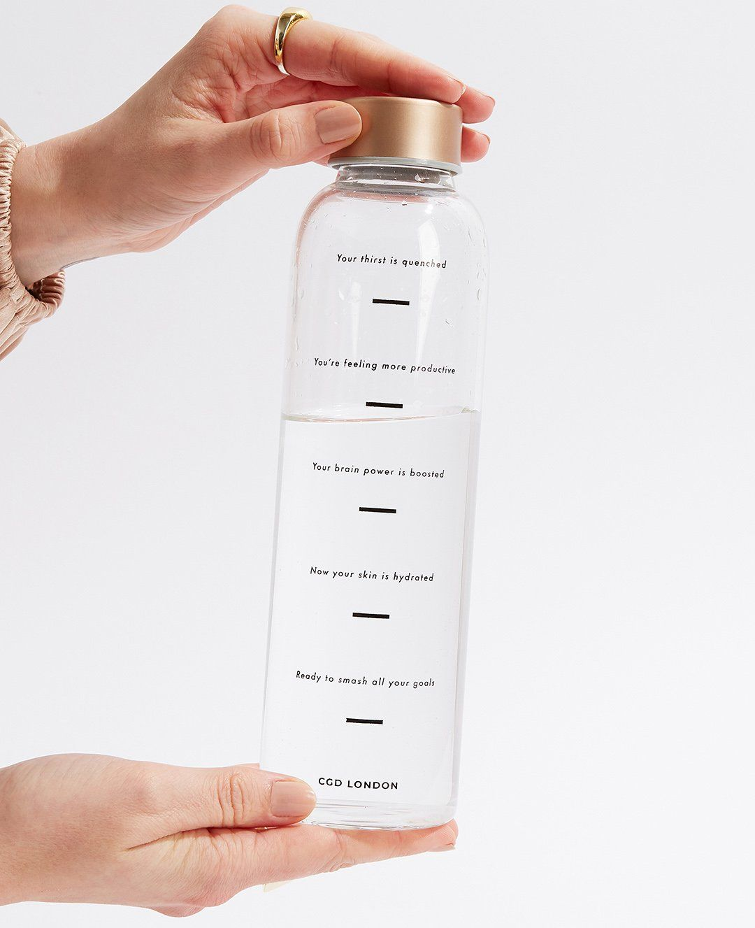 Water Tracking Bottle - CGD LONDON