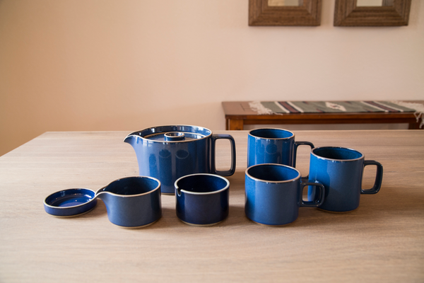 Hasami Porcelain Introduces Blue