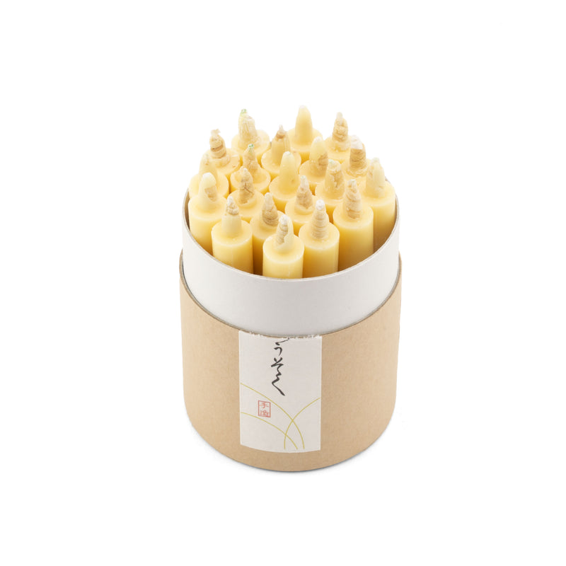 Rice Wax Japanese Candles
