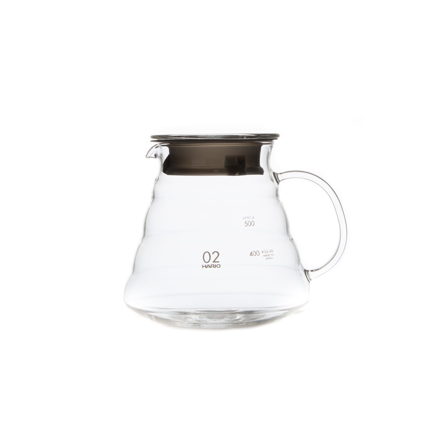 V60 Clear Glass Range Server-Glass Server-Hario-JINEN
