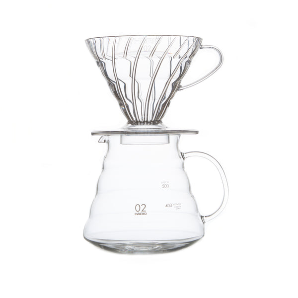 V60 Clear Glass Range Server
