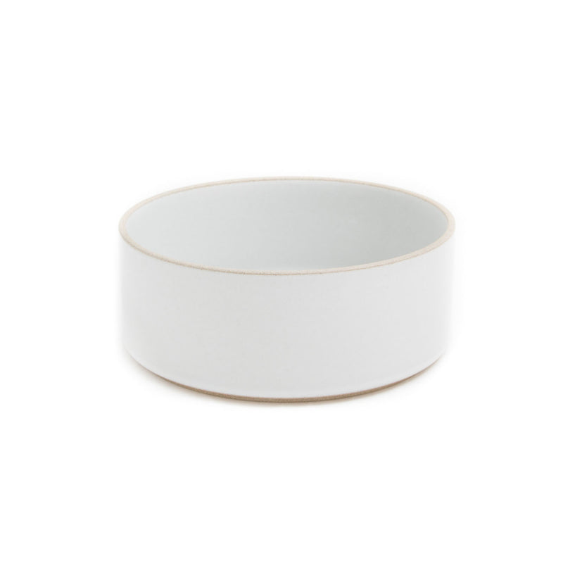 "Tall Bowl, Gloss Gray-Bowl-Hasami Porcelain-7.25""-JINEN"